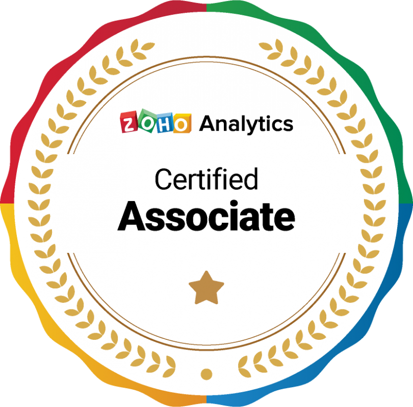 Zoho Analytics Certified Associate