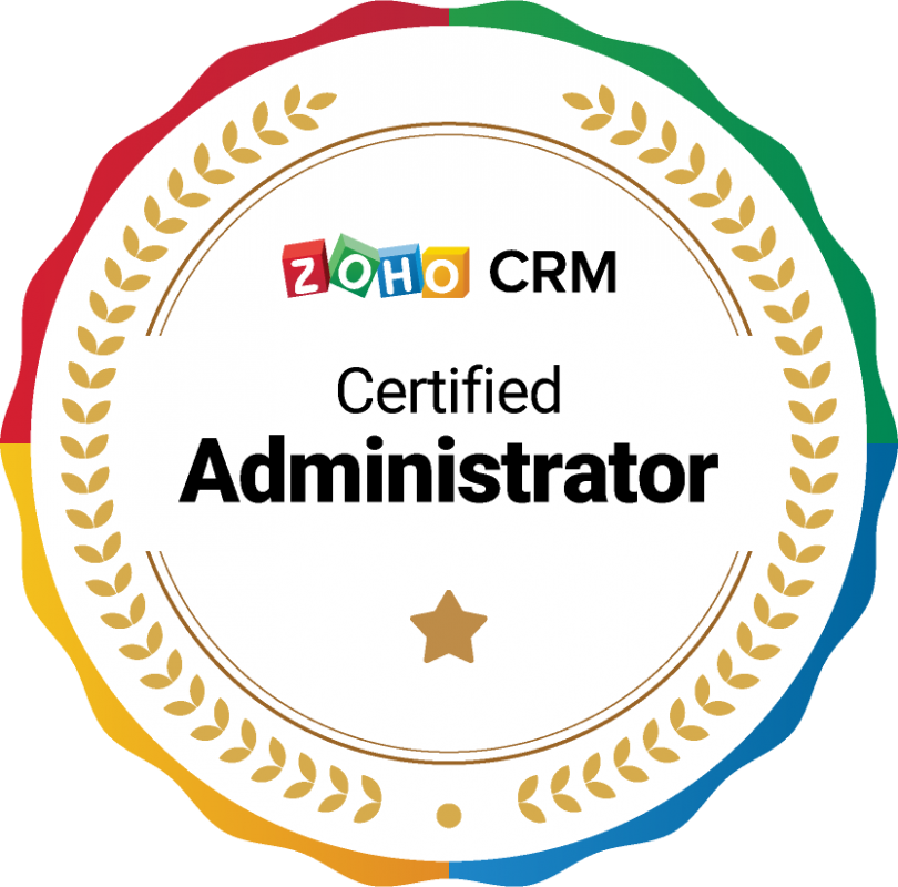 Zoho CRM Certified Administrator