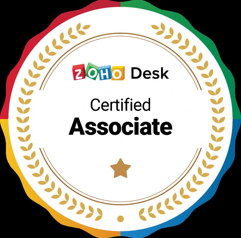 Zoho Desk Certified Associate