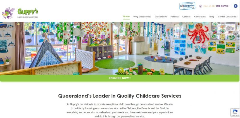 Guppy's New Website: Borne from Passion for Childcare & Learning